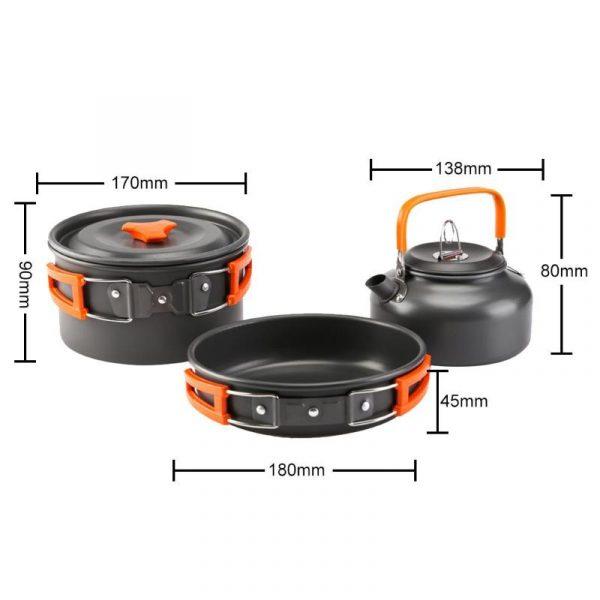 כלים לבישול נוחים וכלים להרכבה ופירוק